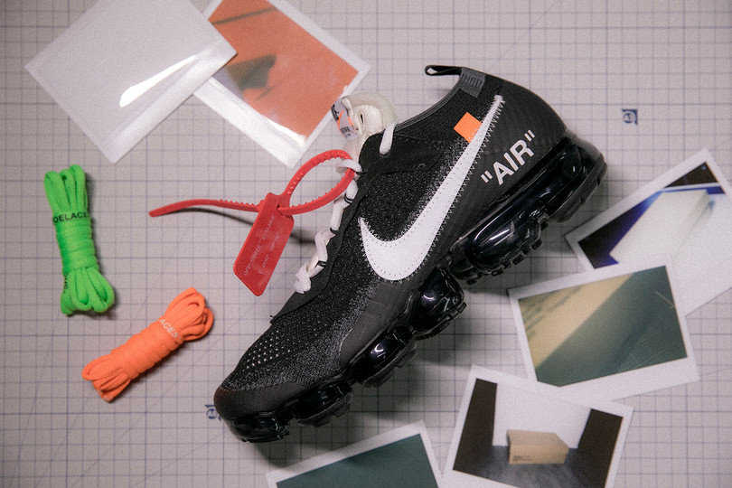 Virgil Abloh x Nike: Air Vapormax and Zoom Fly In-Store Raffle