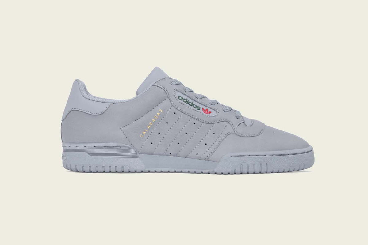 adidas Originals x Kanye West YEEZY POWERPHASE 灰色上架情報