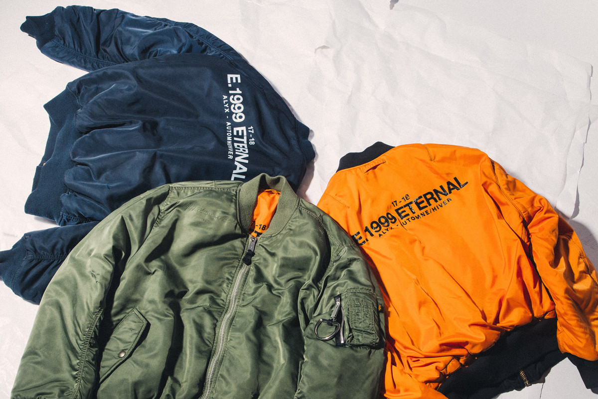 "A Closer Look at the Alyx ""E.1999 Eternal"" Bomber Jacket"