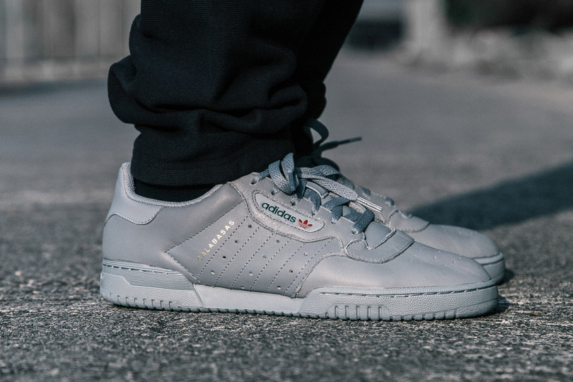 Men's Raffle: YEEZY POWERPHASE Grey
