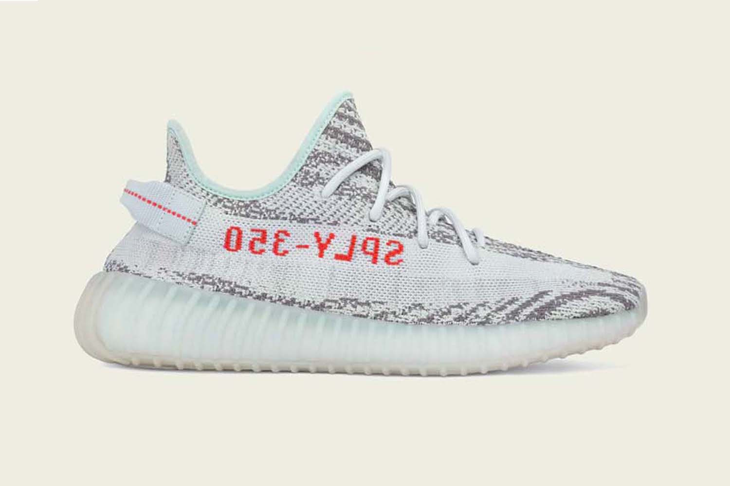 finest selection b3f79 d151a The Adidas YEEZY Boost 350 V2 returns with a Blue Tint shade, in time for  the upcoming festive season. Scheduled to arrive on December 16th, ...
