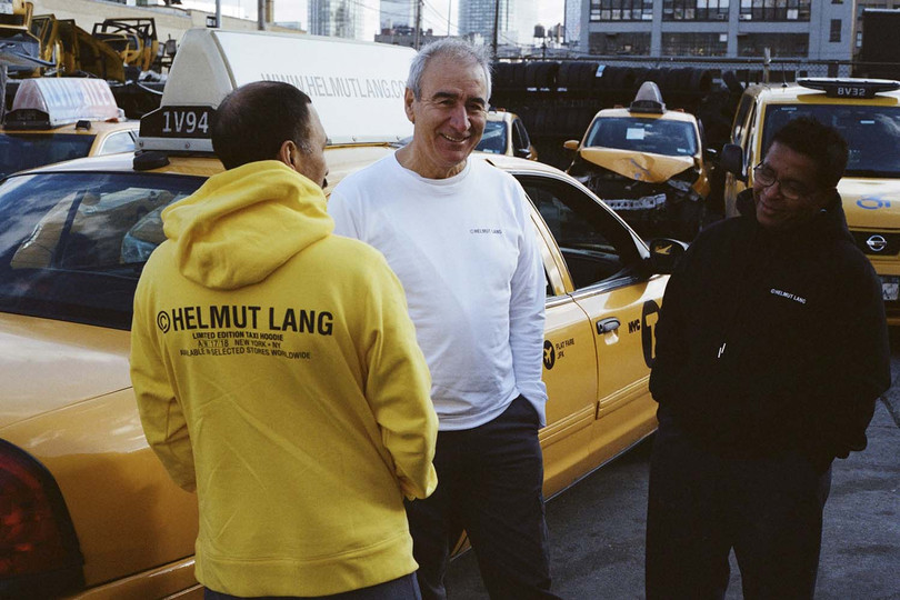 New Arrivals: Helmut Lang NYC Taxi-themed Capsule