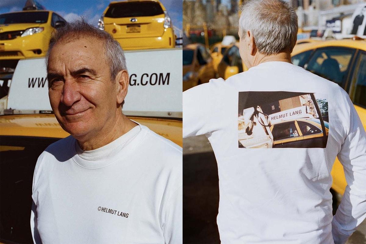 Helmut Lang 纽约的士 capsule 系列