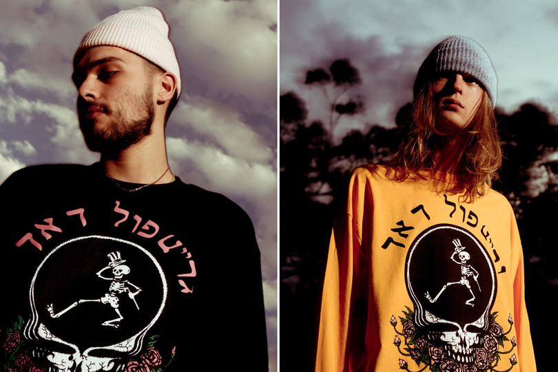 PLEASURES x The Grateful Dead Capsule Collection