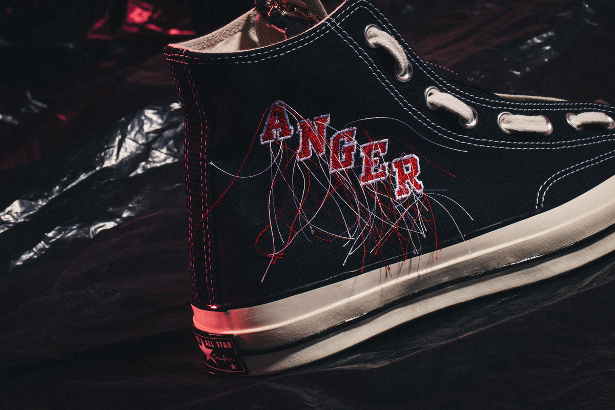 Mr. Completely 特製「Anger」 Converse 1970