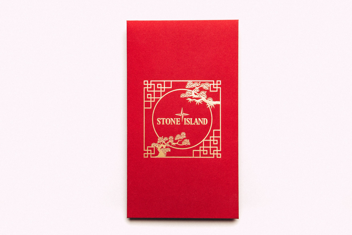 Exclusive Red Envelope Designs featuring Mastermind WORLD, Stone Island and Fragment Design