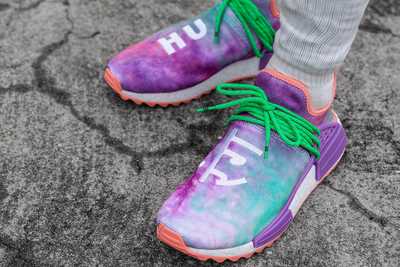 Raffle Now Online: Pharrell x adidas Originals Powder Dye Pack