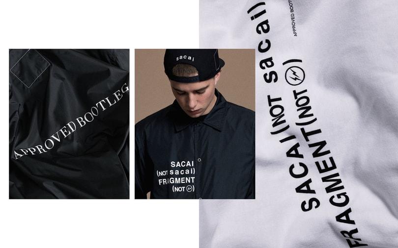 Sacai x Fragment 聯乘系列 獨家線上販售