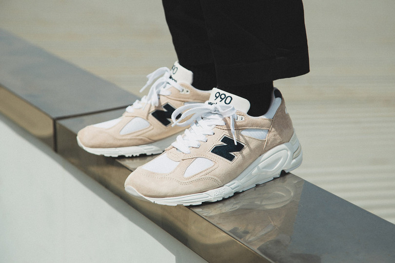 "New Arrivals: New Balance Made In USA 990v2 ""Angora/White"" now online"