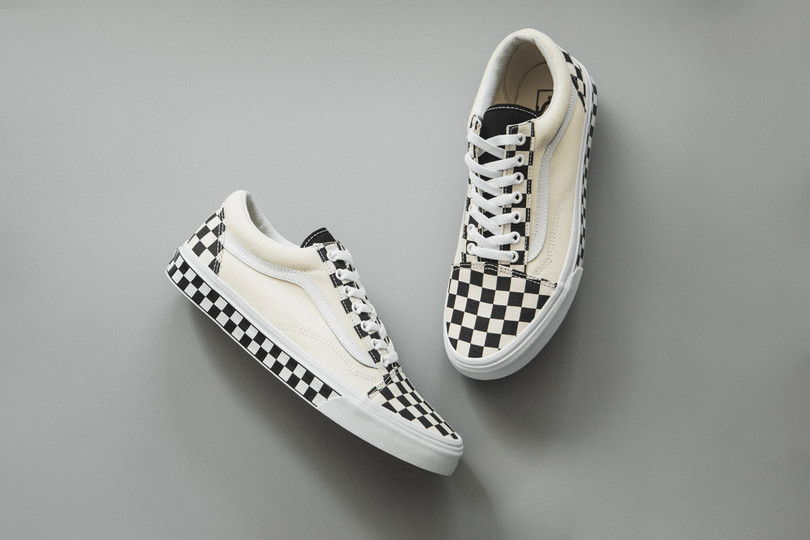 "New Arrivals: Vans Old Skool ""Checker Sidewall"" now online"