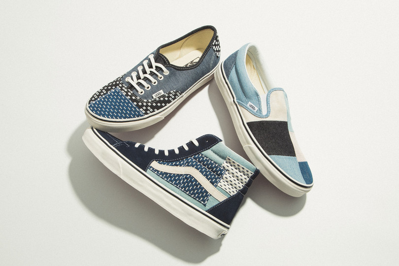 "New Deliveries: Vans ""Patchwork Denim"" Pack, ""Side Wall Check"" Slip-Ons and more"