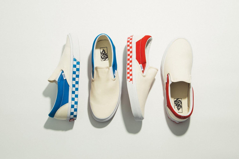 "Vans ""Japanese Boro"" & ""Side Wall Check"" Packs"