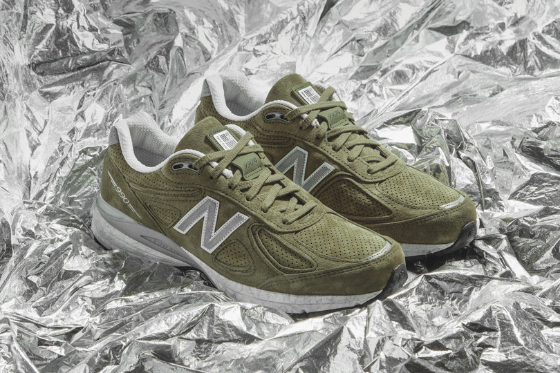 "New Deliveries: New Balance 990v4 Made In USA ""Covert"" now online"