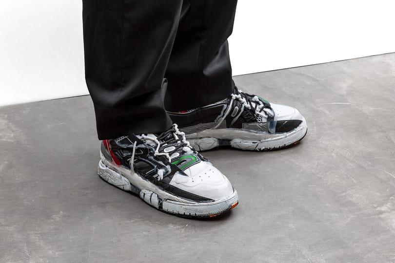 "New Arrivals: Maison Margiela ""Fusion"" Sneaker"