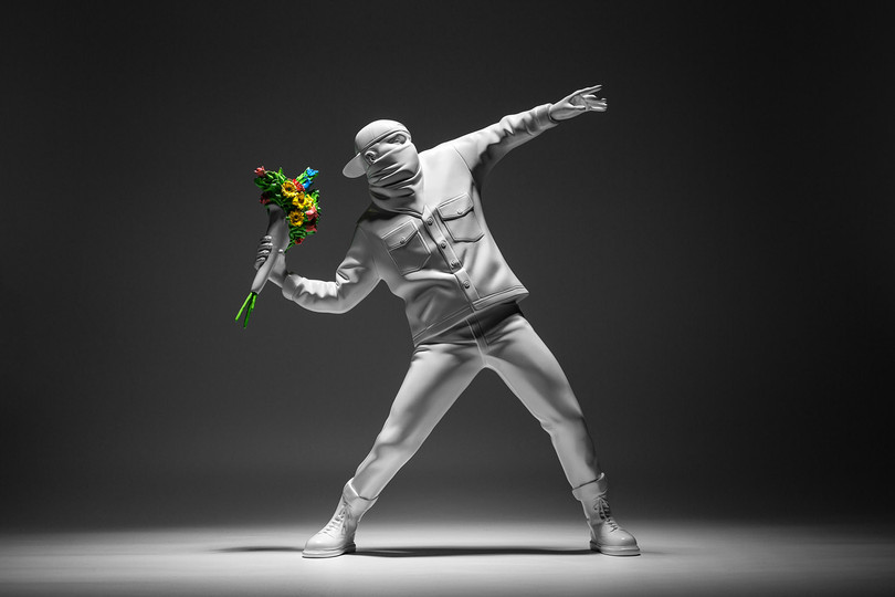 "New Arrivals: Medicom Toy ""Flower Bomber"" Figurine"