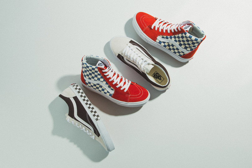 New Arrivals: Vans BMX Checkerboard Sk8-Hi and Style 36 now online