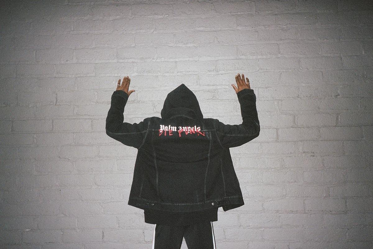 Palm Angels x Playboi Carti 「Die Punk」capsule系列上架