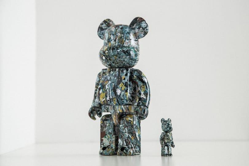 Special Release: Jackson Pollock x Medicom Toy Be@rbrick
