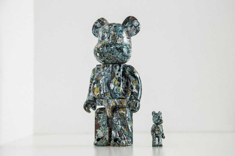 Special Release: Jackson Pollock x Medicom Toy Be@rbrick