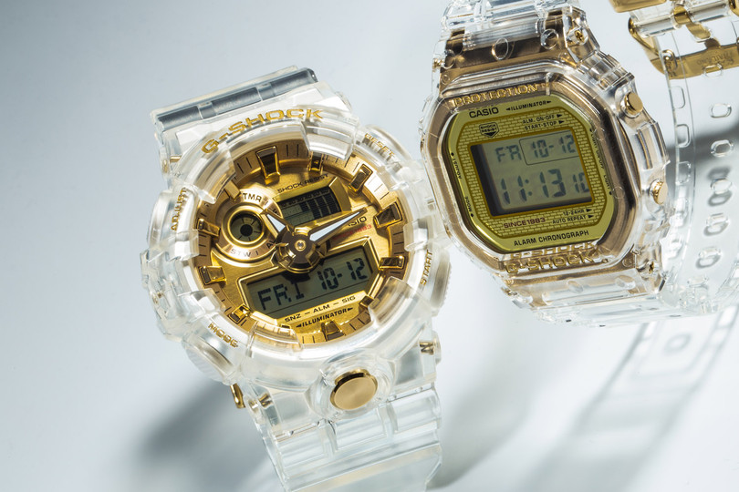 Coming Soon: Casio G-SHOCK Glacier Gold Collection