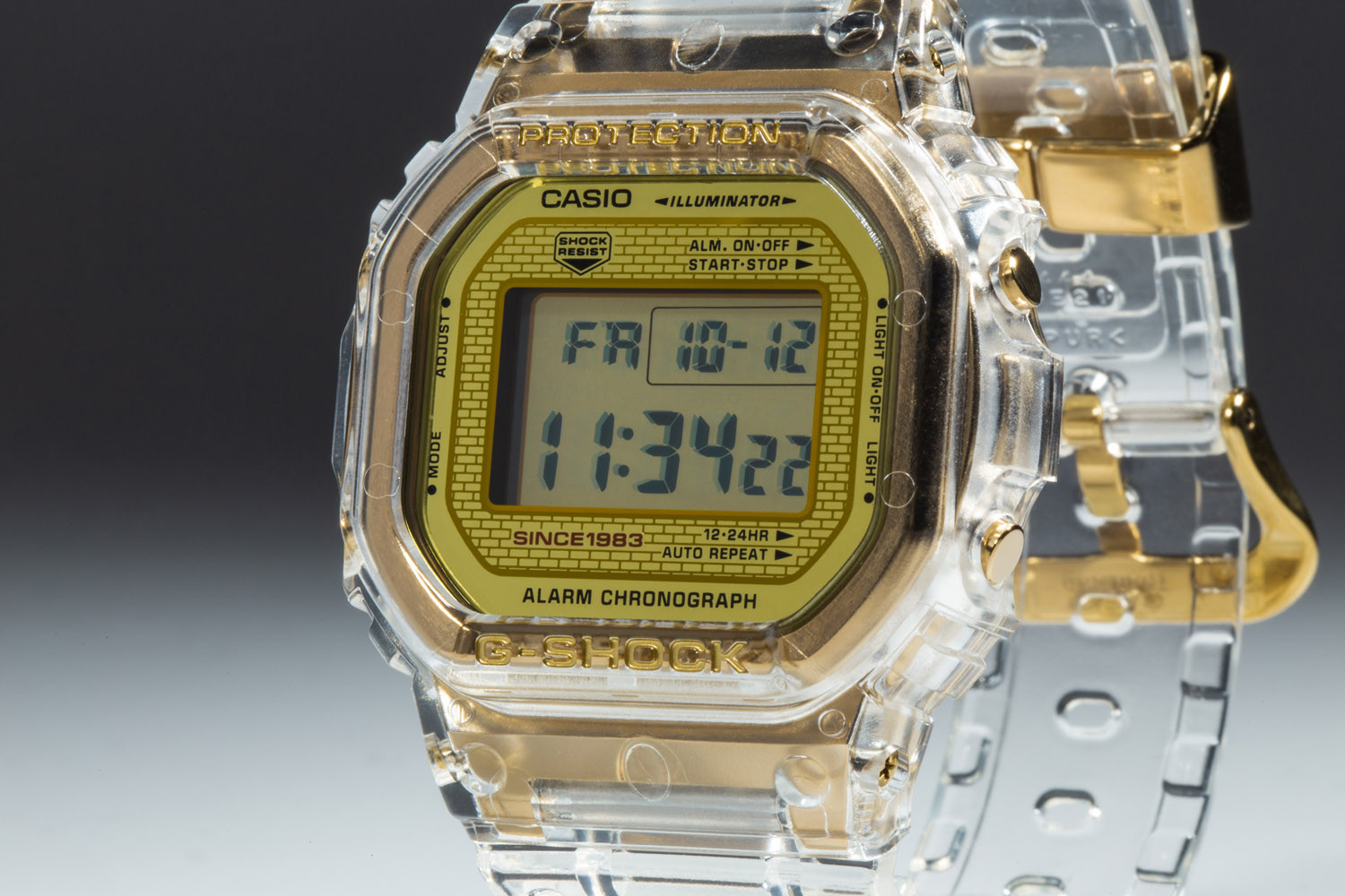 Casio G-SHOCK Glacier Gold Collection