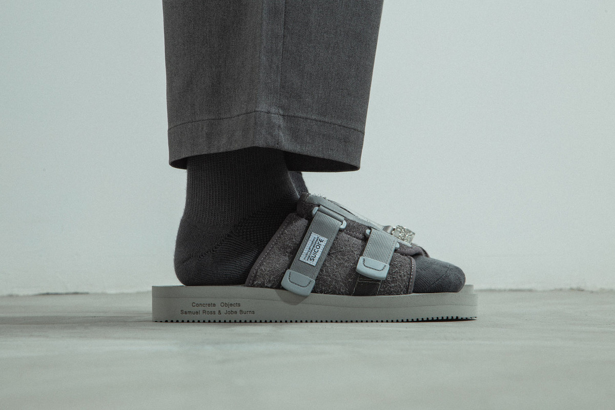 Special Release: Concrete Objects x Suicoke KAW