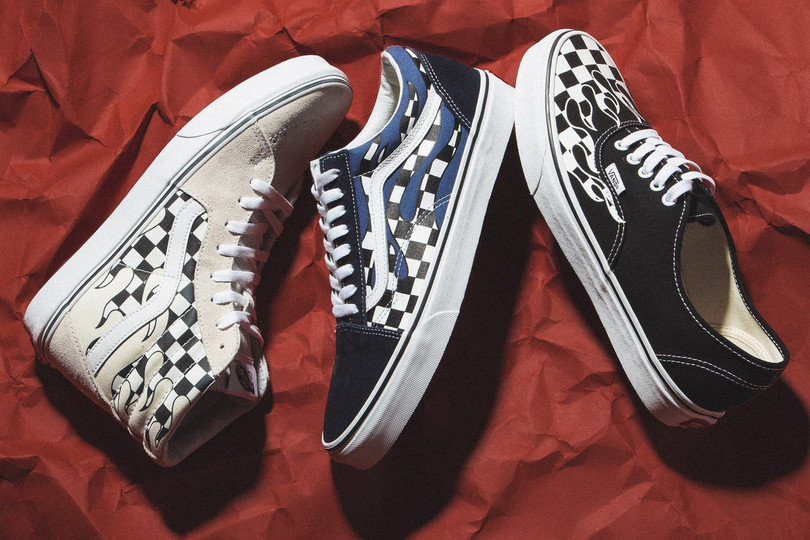 "New Arrivals: Vans ""Checkerboard Flames"" Pack"