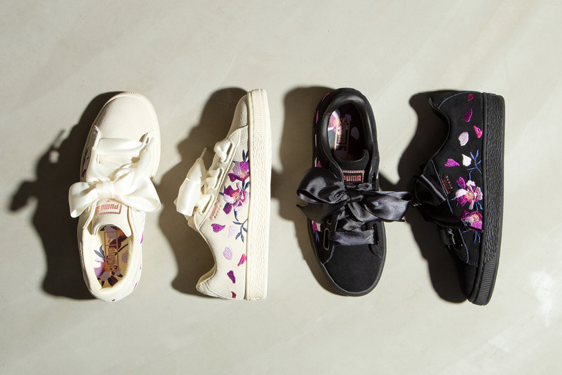 New Arrivals: PUMA Suede Heart Flowery