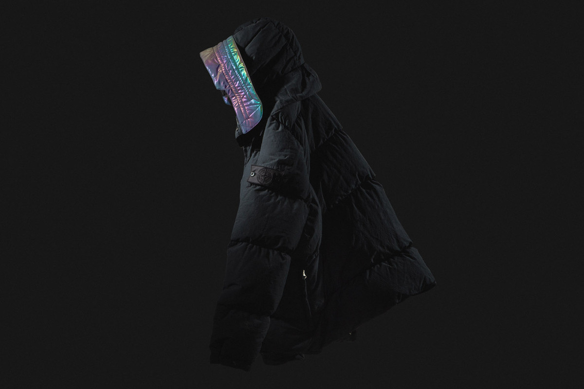 "Focus: Stone Island Shadow Project ""40502 Encase Panel Down Jacket"""
