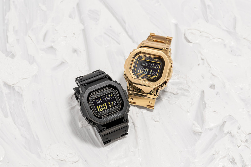 New Arrivals: Casio G-SHOCK GMW-B5000GD-9  & GMW-B5000GD-1