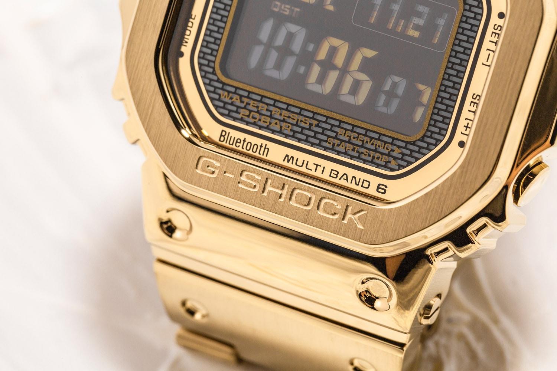 G-SHOCK GMW-B5000GD-9  & GMW-B5000GD-1