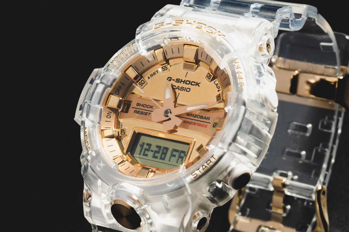 Back In Stock: CASIO G-SHOCK Glacier Gold Collection