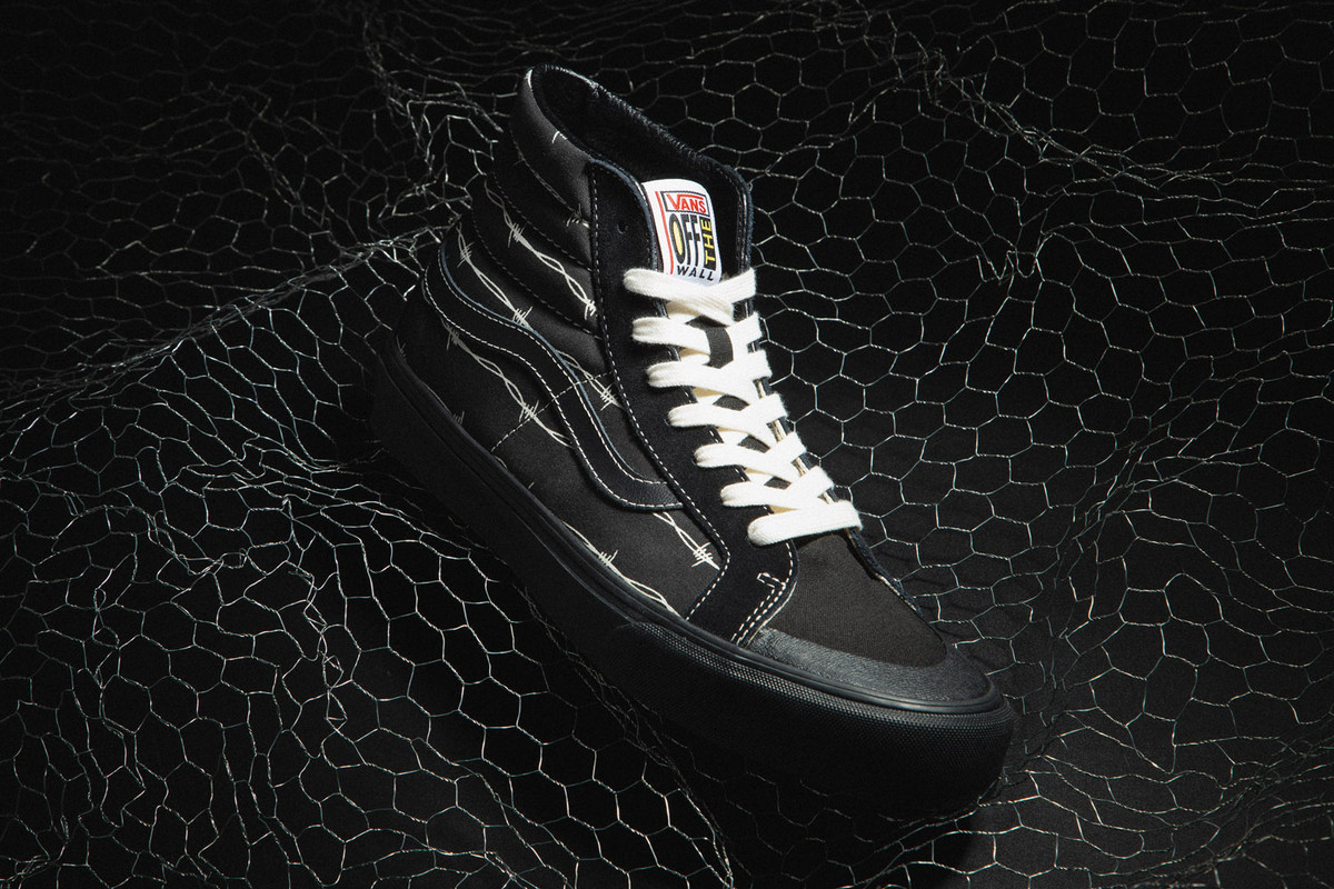 """New Arrivals: Vans Sk8-Hi 138 Decon SF """"Barbed Wire"""" & Flame Style 36 """"Black"""""""