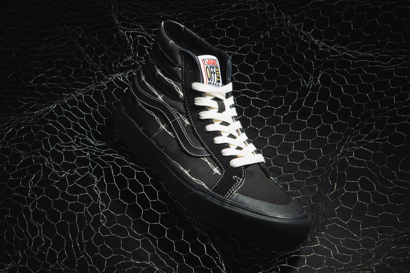"New Arrivals: Vans Sk8-Hi 138 Decon SF ""Barbed Wire"" & Flame Style 36 ""Black"""