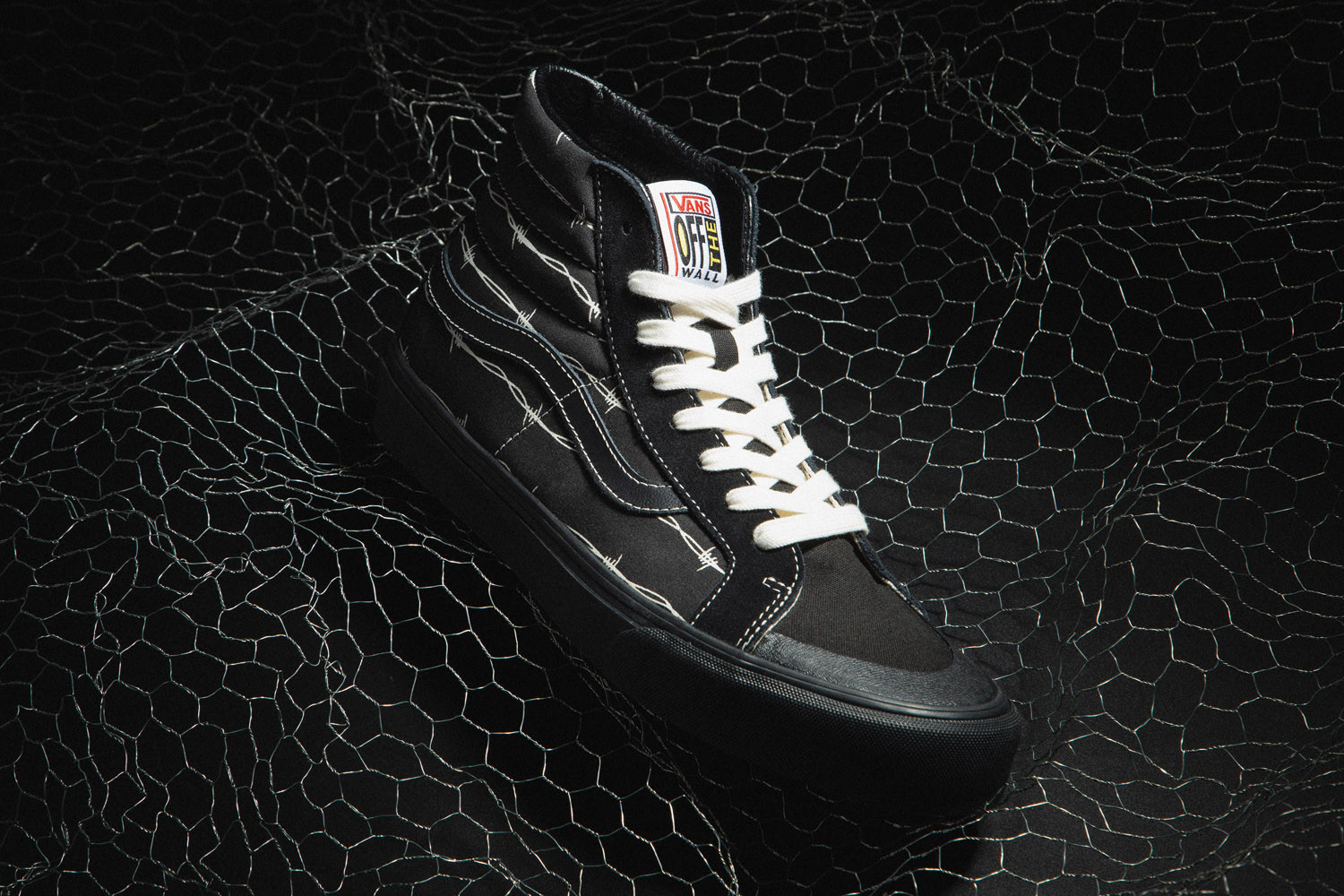 "SK8-Hi 138 Decon SF ""Barbed Wire"" & Flame Style 36 ""Black"""