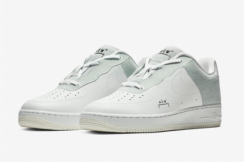 Nike x A-COLD-WALL* Air Force 1 '07 發售情報