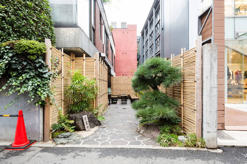 Spaces: Café Kitsuné Aoyama