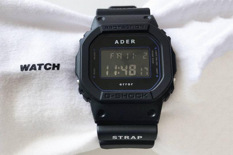 Special Release: ADER error x Casio G-SHOCK DW-5600ADER-1DR