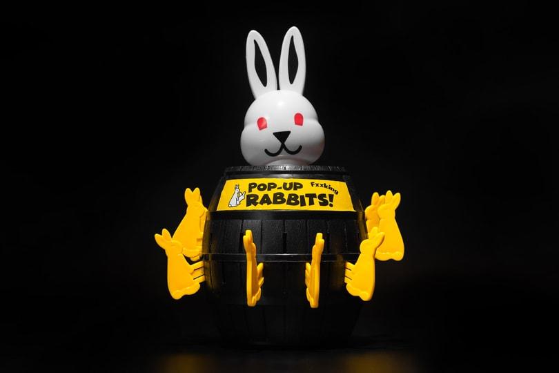 Gift Shop: #FR2/Fxxking Rabbits Pop-Up Rabbit Toy