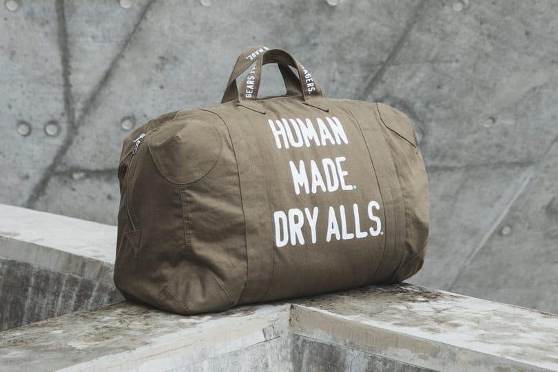Highlights: Human Made Olive Drab Officer Bag