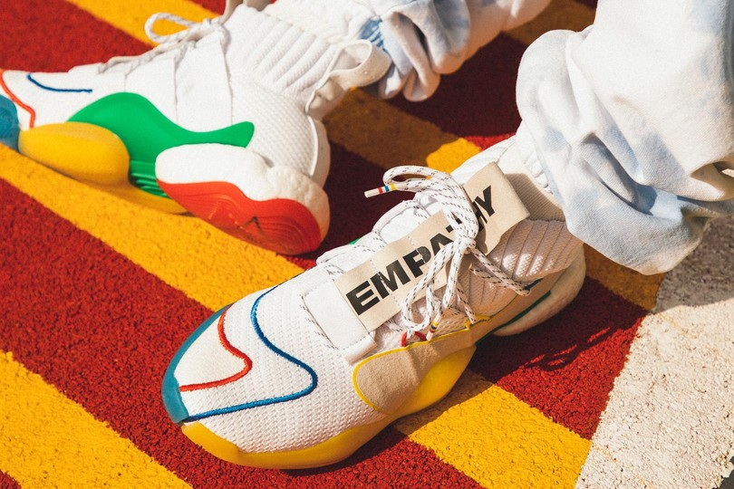 "Special Release: Pharrell x Adidas Crazy BYW X ""Gratitude Empathy"""