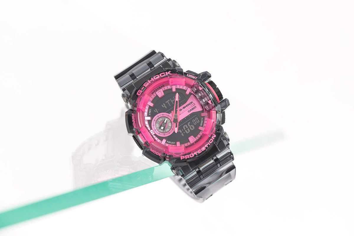 New Deliveries: G-SHOCK '90s-Inspired Transparent Watches