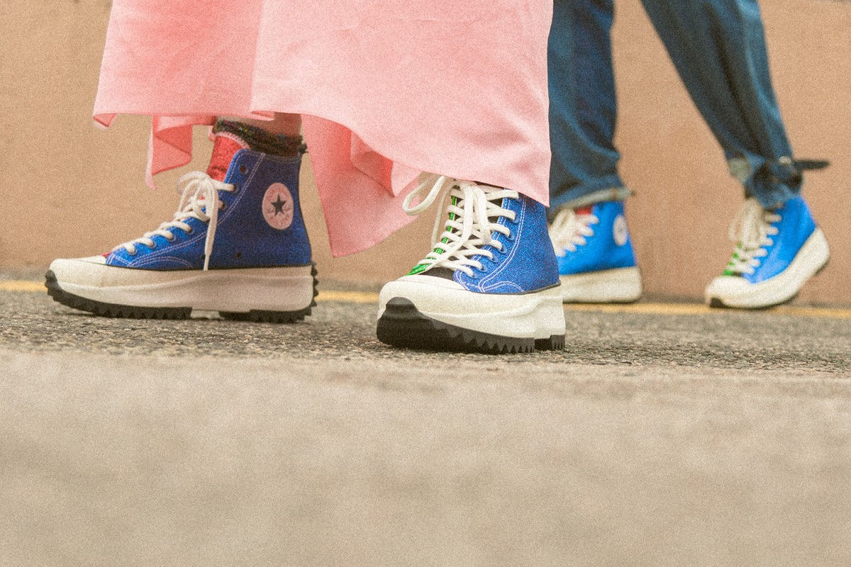Special Release: JW Anderson x Converse Glitter Pack