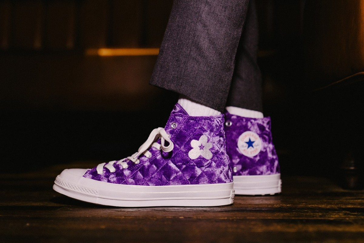 """Special Release: GOLF le FLEUR* x Converse """"Quilted Velvet"""" Pack"""