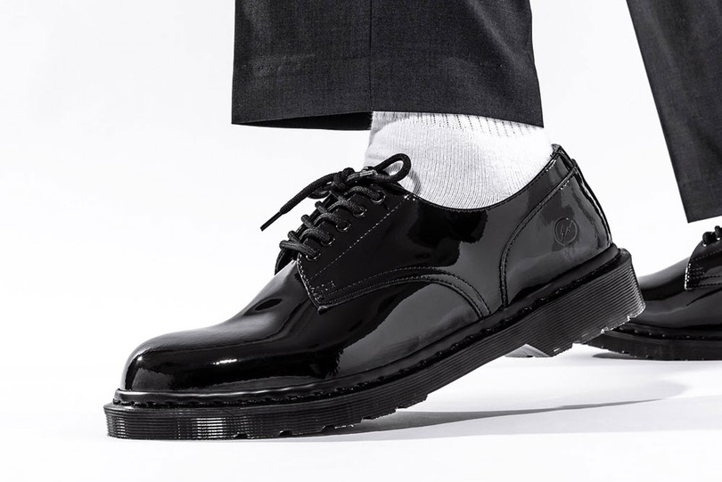 Special Release: fragment design x Dr. Martens Patent Leather Shoes