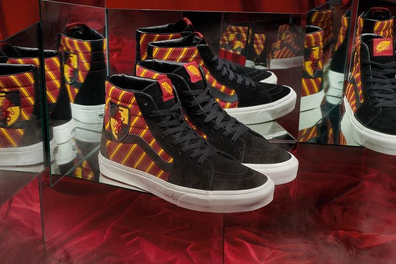 Coming Soon: Vans x Harry Potter Sneaker Collection