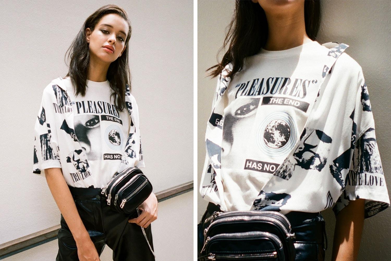 2019 Womens street fashion PLEASURES