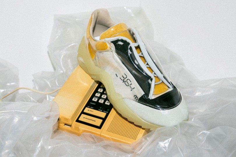 "New Deliveries: Maison Margiela ""New Future"" Low-Top Sneakers"