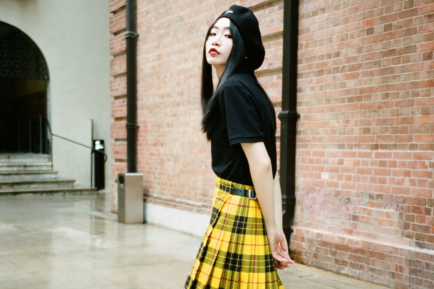 2019 womens street fashion Le Kilt
