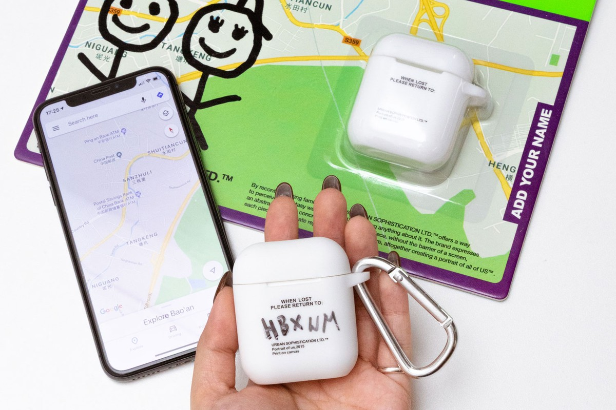 "Exclusive Giveaway: Urban Sophistication ""Risk Of Losing"" AirPods Case"
